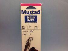 25 total rigs - Mustad 641-1  Size 1 Beak - FIVE 5 Packs - Snelled  New