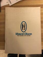 Mason & Dixon Lines Service Directory