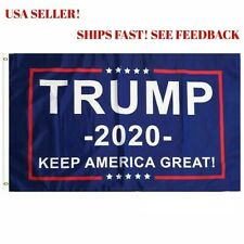 Trump 2020 President Donald trump Make America Great 3x5 Ft Flag US