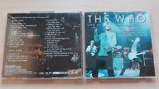 THE WHO – ''LIVE AT THE ROYAL ALBERT HALL'' – GERMANY PROMO 2CD ALBUM.