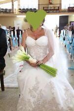 Alfred Angelo Sapphire 803 Wedding Dress (ORGANZA OVERSATIN)Wedding Dress