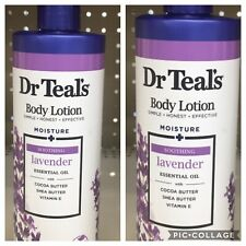 2 PACK DR TEAL'S SOOTHING LAVENDER BODY LOTION, 18 FL. OZ.