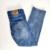 TK Axel Slim Boot Jeans Size 34 x 32 Blue