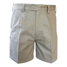 Bisley Work Short Mens 100%25 Cotton Drill Workwear Regular Navy Khaki 87 92 97