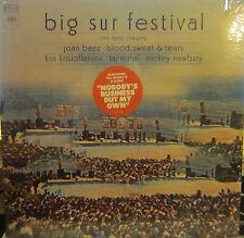 Big Sur Festival (Taj Mahal, Joan Baez, Mickey Newbury, BS&T, Kris) (Poster) ss