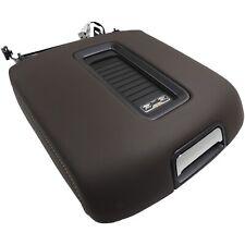 Center Console Armrest Cocoa Leather w/Chrome Oem Gm 2015-17 Silverado Sierra