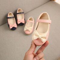 Children Kids Girls Sweet Cute Bowknot Dance Princess Single Casual Shoes Sandal