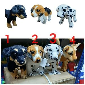 New Plush Soft Toy Sausage Dog Assorted Breed Dogs