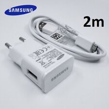 Cable Chargeur SAMSUNG ORIGINAL EP-TA90EWE Galaxy S6 S7 Note 4 5 Edge 2m