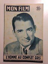 MON FILM N°543 1957 L'HOMME AU COMPLET GRIS / GREGORY PECK