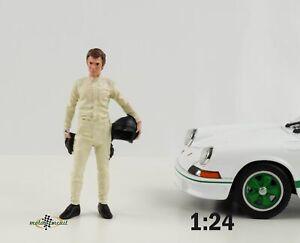 Figur Race Day 2 Fahrer Paddock Le Mans 1:24 American Diorama no car