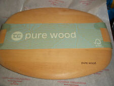 T&G Woodware Chopping boards Pure Wood  40cm long x 31cm wide BN