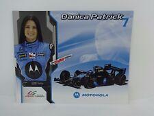Danica Patrick Motorola Indianapolis 500 Hero Card Indy