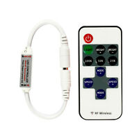 DC Connector RF Wireless Dimmer Remote Controller For Single Color LED Strip