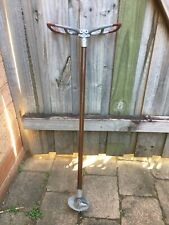 """ANTIQUE SHOOTING WALKING STICK  MADE IN ENGLAND 34"""""""