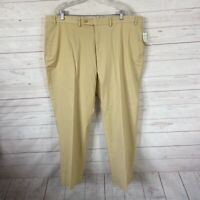Lauren Ralph Lauren Straight Leg Chino Pants Womens Sz 42 Beige 42x30 NWT