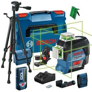 Bosch Kreuzlinienlaser GLL 3-80 CG inkl. Akku, L-BOXX, BT 150, LR7, BM1, Tasche