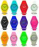 Men's Gents Ladies Women's Children's Kid's Silicon/Rubber Wrist Watch