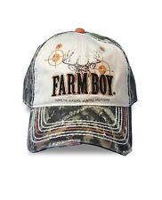 Men's Farm Boy Huntin and Fishing Twill Ball Cap - F13080627CA