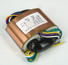 115V/230V 50W r-core à blindage transformateur pour amp amplis dac 15V+15V 12V+12V