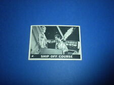 LOST IN SPACE #7 Topps 1966 trading card - Printed in U.S.A. vintage tv sci-fi