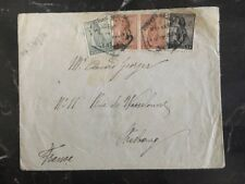 1934 Luanda Angola Cover to Strasbourg France