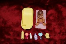 Barbie Baby Nikki Doll Accessories Bathtub bottle rattles duck powder towel set