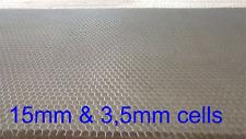 Aluminium Wabenplatte 300x200mm 3,5mm Wabengitter / Honeycomb plate CO2 Laser