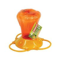 Stokes Select Oriole Bird Feeder w/3Feeding Ports,Orange,34 fl oz Capacity