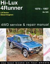 Toyota Hilux & 4Runner 2WD 4WD Diesel 1979-1997 Gregorys Repair Workshop Manual