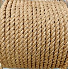 """1.5"""" 1 1/2"""" Premium Treated Manila Rope Natural Cut To Length Order By The Foot"""