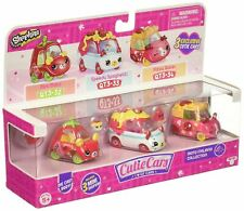 SHOPKINS Cutie Cars S3 MOTO ITALIANO COLLECTION (3 Pack) Toy Vehicles Playset