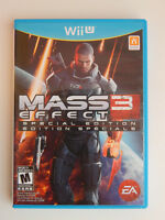 Mass Effect 3 Special Edition Game Complete! Nintendo Wii U