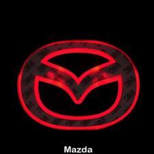 LED Car Tail Logo Red light Auto Badge Light for Mazda 2 Mazda 3