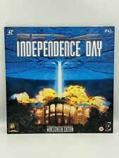 WIDESCREEN EDITION INDEPENDENCE DAY X2 DISCS (3 SIDES) LASERDISC SET 1997 PAL