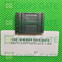 2PCS DSPIC33EP32MC202-I/SS IC DSC 16BIT 32KB FLASH 28SSOP Microchip