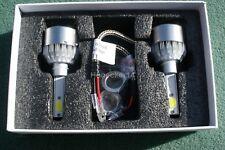 2X H1 LED HEADLIGHT BULBS 36W 6500K