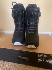 Burton Photon Boa Black Snowboard Boots 2021, mens US size 9.5 New, never used!