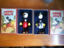 Walt Disney minnie mouse micky mouse retro collection fun e flex wooden dolls