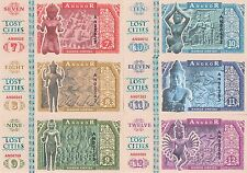 Lot 5 Sets Angkor Set of 6 banknotes in 2016 Unc (private issue)