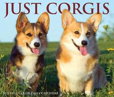 Just Corgis (dog breed calendar) 2021 Box Calendar (Free Shipping)
