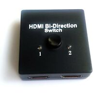 Full 2 Port HDCP 2.2 HDMI 2.0 Bi-directional Switch Switcher Splitter Amplifier