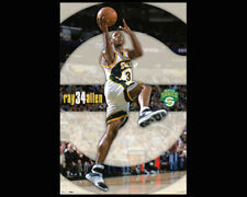 RAY ALLEN Seattle Supersonics Sonics c.2006 Vintage Original Basketball POSTER