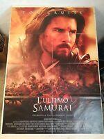Manifesto Film L' ULTIMO SAMURAI (2004) Poster Movie Originale Cinema 100x140