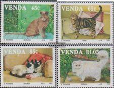 Zuid-Afrika - Venda 250-253 (compleet Kwestie) postfris MNH 1993 Katten
