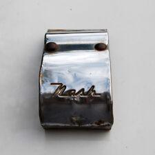 Nash Ambassador Statesman front bumper panel cover emblem script 49 50 51