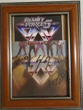 Family Force 5 Dance Die autograph Cd insert frame crunk alternative Christian