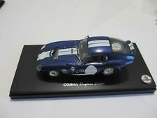 Shelby Cobra Daytona Coupe by Kyosho 1:43 scale - Deep Blue Metallic - No Box