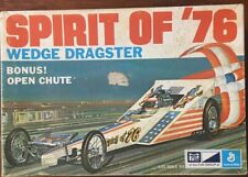 MPC 1/25 Spirit of &^ Wedge Dragster # 1-0758