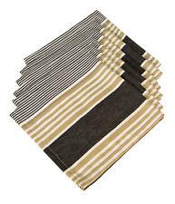 Cotton Napkins Granite Stripes 6/pack